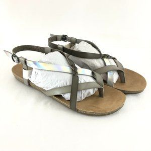 Blowfish Womens Sandals Strappy Thong Ankle Strap